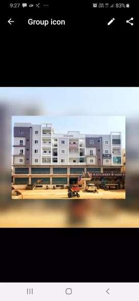 New unused house on main road 2.5 km to Nizampet
