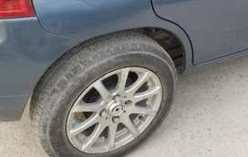 13 SIZE RIM with tyre.