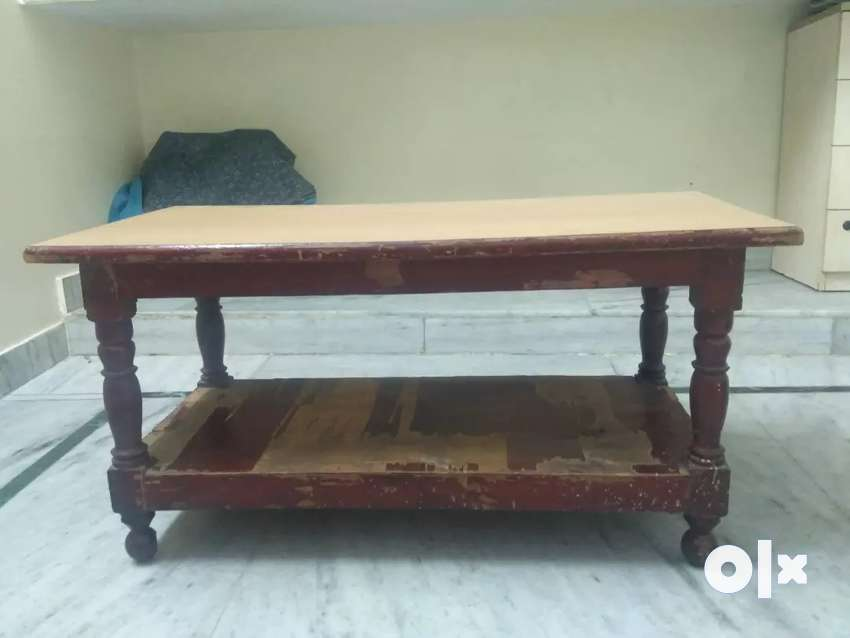 Wood furniture table big size table