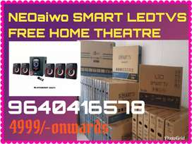 SESSION OFFER NEOaiwo SMART LEDTVS FREE HOME THEATRE HURRY NOW
