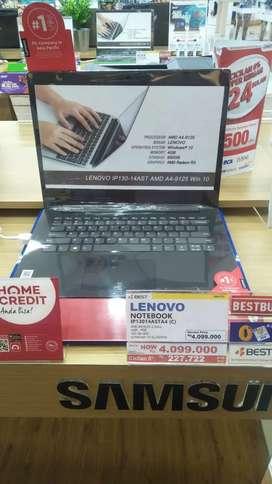 LENOVO IP130-14AST 4/500GB Cicilan Tanpa cc