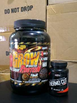Suplemen Fitness Diet PHP Iso Grow 2lb Plus Thermo Cut 100 Capsul.
