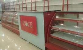 Bakery showcase racks counters chillers