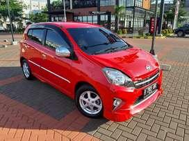 Agya TRD Automatic 2015 Merah ( Low Km )