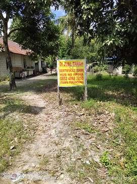 Di Jual Tanah di Jalan Lintas Kalimantan di Mantaren Pulang Pisau