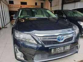 Toyota Camry Hybrid Matic Tahun 2014 Hitam Tangan Pertama Mulus