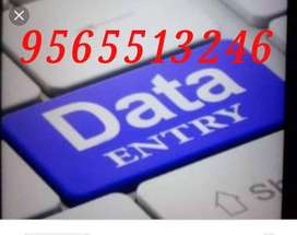 Data entry work gives a great scope to Students