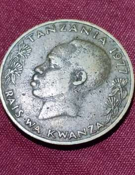African very rare coin