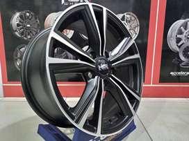Velg Mobil HSR STONE Ring 16 Lebar 7 Baut 5 For Ertiga APV Luxio