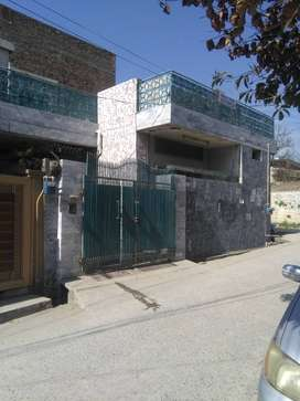 Corner House for sale in lane 5 Peshawar road Rawalpindi cantt