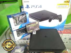 Region Japan Original PS4 Slim 500GB Fullset,Siap libas semua game