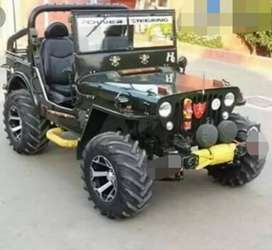 Modified willy open jeep