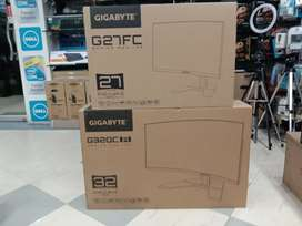 Gigabyte G27FC and G32QCA monitor available.