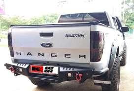 Bemper belakang ford ranger hilux triton dmax navara mazda colorado