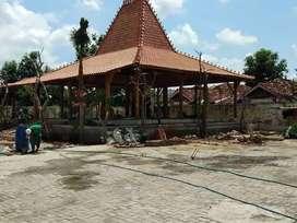 Jual Produksi Pendopo Dan Rumah Joglo Bahan Kayu Jati