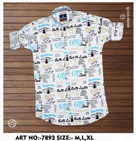 Printed Cotton Shirts 3 for 1000