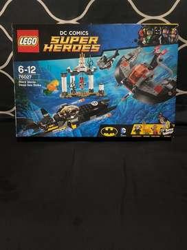 Lego DC COMICS SUPER HEROES Aquaman Black Manta Deep Sea Strike 76027
