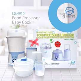 Food Processor Baby Cook Multifungsi LG.4910 Little Giant Preloved
