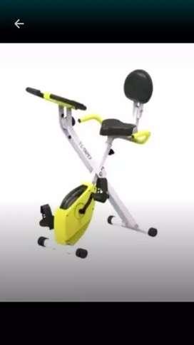 X.bike sandaran bisa dilipat