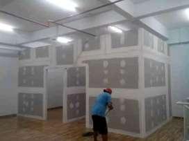 Sketsel ruangan dan plafon pvc