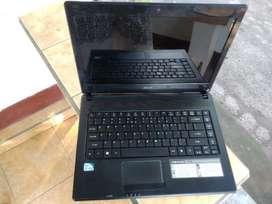 Laptop acer 4738z 14inch