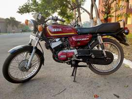 Yamaha RX100 ready to race in good condition