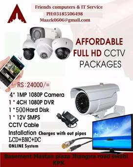 Full cctv installetion