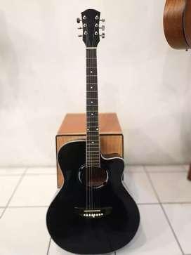 Gitar Akustik Standart ( Tanem Besi ) Overture Musik