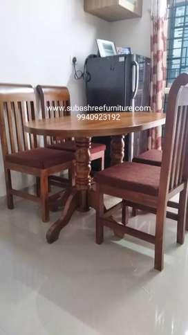 Dining table and chairs 4 seater brand new