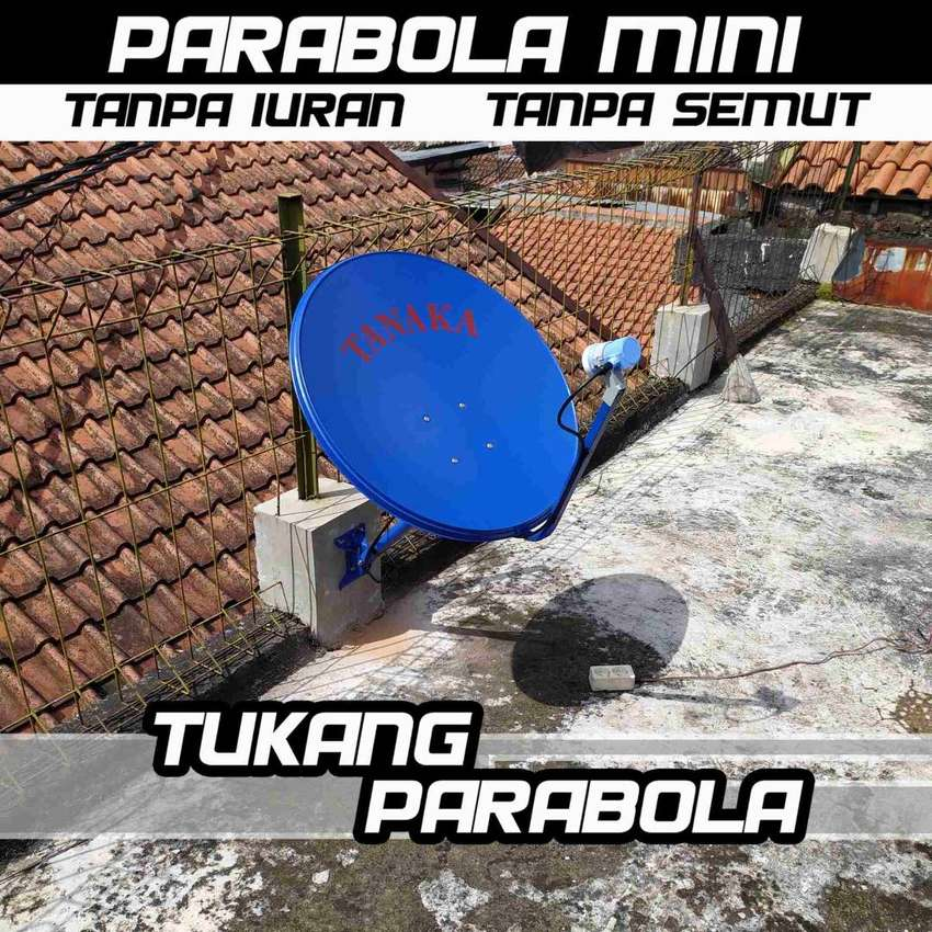 Mini Parabola Tanpa iuran Kvisioon 0