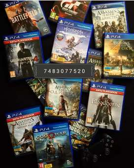 ps4 game titles at best price for sell or rent