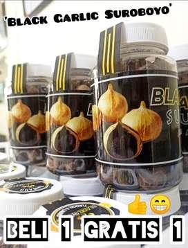 Black garlic / bawang hitam