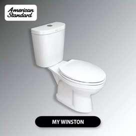 Promo Kloset closet wc duduk American Standard sekoto pare kediri