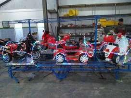 RST mainan mall pasar malam labirin kereta odong2