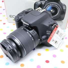 Canon 1200D lensa kit Fullset
