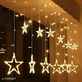 10 LED Star curtain Light