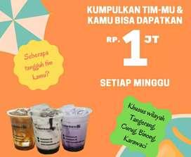Butuh Cepat - Tim Freelance Nusantara86 Ropang dan Minuman Kocok