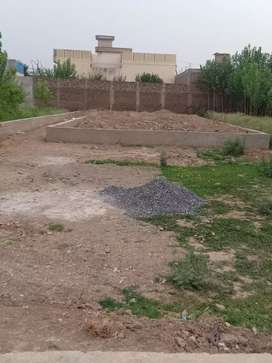 20 Marla plot for sale 14 feet area (Rasta 14 feet)