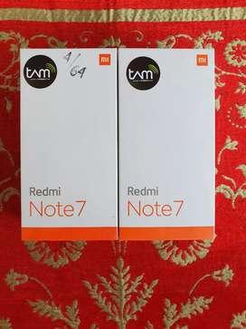 For Sale Xiaomi Redmi Note 7 4/64 GB Biru