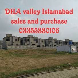 Lilly block 8 Marla paid surcharge for sales dha valley Islamabad