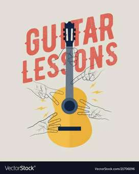 Guitar Home Tuition available..