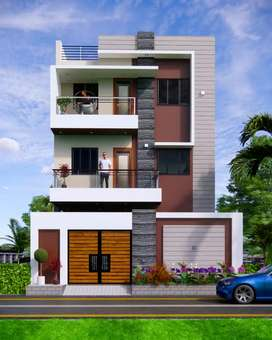 Individual villas with gated community project