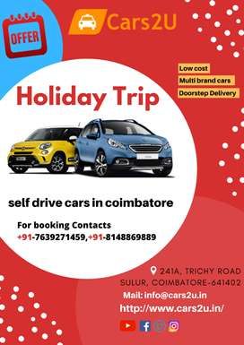Self-drive cars in Coimbatore