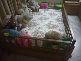 Single cot with storage