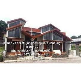 Rumah 2lt murah di Cilengkrang kota bandung