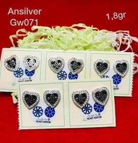 giwang love silver925