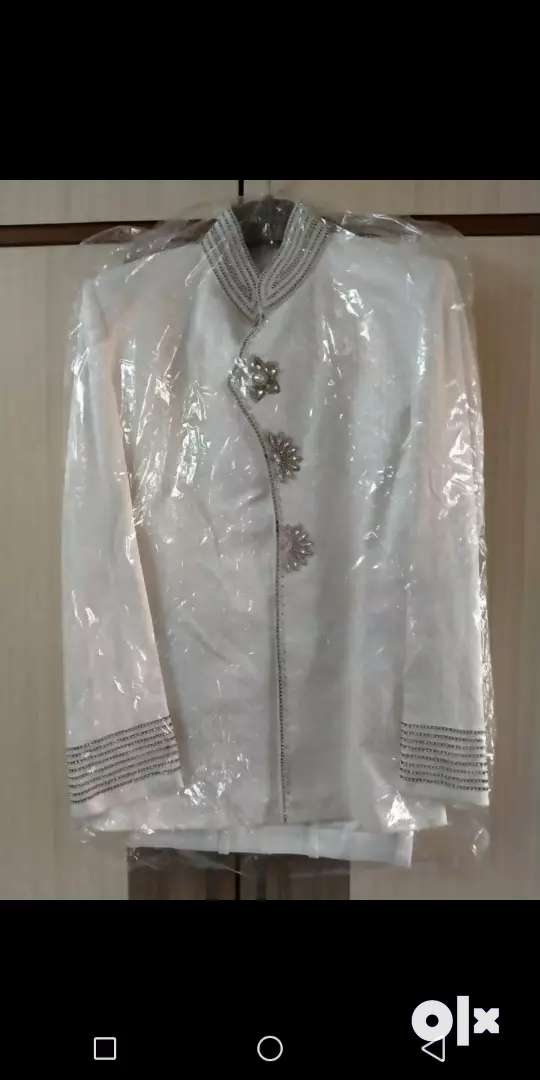 Wedding silk suits with beautiful embridery.
