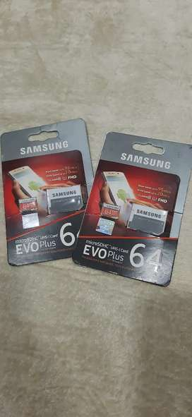 All types of memory cards available with adapters