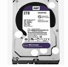 2TB Hard Disk Brand New for PC and CCTV
