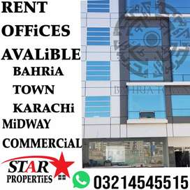 Brand New office for new business in new developing city Bahria Town.